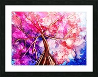 Cherry Blossom Picture Frame print