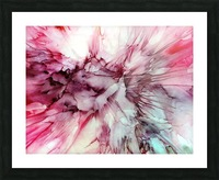 Carnation Picture Frame print