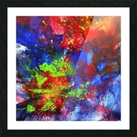 Color Explosion Picture Frame print