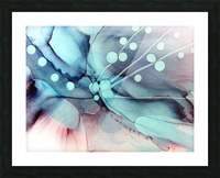 Sea Dance Picture Frame print