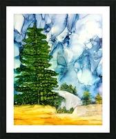 Sandia Stroll Picture Frame print