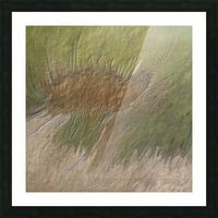 Acid etch Picture Frame print