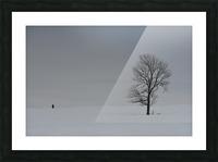 Marche hivernale Impression et Cadre photo