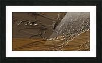 Anular turmoil Picture Frame print