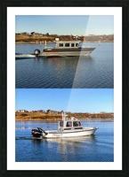 Cuttyhunk Vessels KMB 20x30 ACRYLIC 4 PRINT Picture Frame print