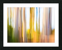 Moving Trees 25 Landcape 52 70 200px Picture Frame print