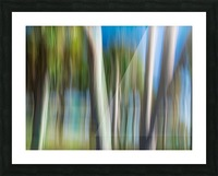 Moving Trees 31 Landcape 52 70 200px Picture Frame print
