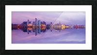 LIV 007 Liverpool Skyline   PANORAMIC Picture Frame print
