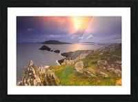 KY 602 Blasket Island Sunset Picture Frame print