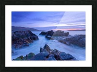C 648 Beara Twilight Picture Frame print