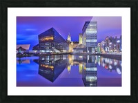 LIV 004 Dock Reflections_1549590972.26 Picture Frame print