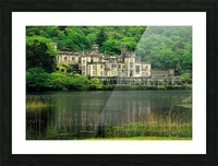 G 021 Kylemore Abbey Picture Frame print