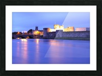 LK 016 King Johns Castle Picture Frame print