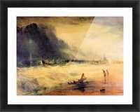 Stranded ship by Joseph Mallord Turner Picture Frame print