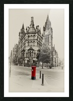 MAN 023 Manchester Town Hall Picture Frame print