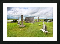 OY 002 Clonmacnoise Picture Frame print