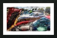 Corvette Row Picture Frame print