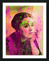 ADELE Picture Frame print