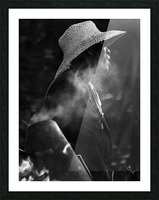 Roasted chestnuts_bnw Picture Frame print