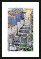 Porto vers la Ribeira Picture Frame print