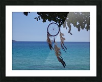 Dreams by the sea Picture Frame print