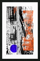New York SoHo  Picture Frame print