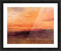 Sunset by Joseph Mallord Turner Picture Frame print