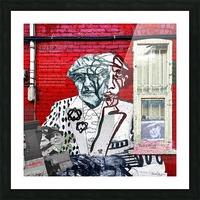 Hommage - Leonard Cohen Picture Frame print