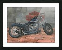Harley Davidson Motorcycle Picture Frame print