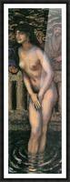 Susanna in the bath -2- by Franz von Stuck Picture Frame print