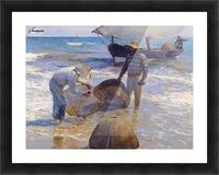 Los Pescadores Valencianos Picture Frame print