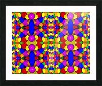 Kaleidescope Picture Frame print