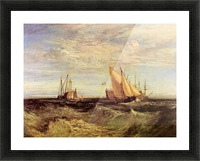 Thames at the Medway by Joseph Mallord Turner Picture Frame print