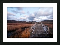 Passing Clouds Picture Frame print
