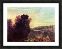 Thames at Weybridge by Joseph Mallord Turner Picture Frame print