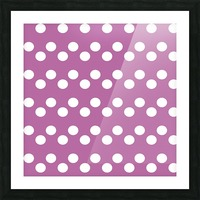 Bodacious Polka Dots Picture Frame print