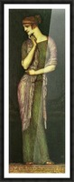 The beautiful Helena by Franz von Stuck Picture Frame print