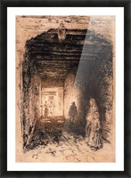 The Beggars by Whistler Picture Frame print