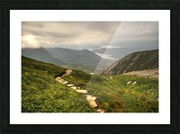 Grosmorne Mountain Picture Frame print
