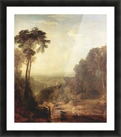 The crossing of the stream by Joseph Mallord Turner Picture Frame print