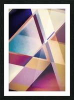 Composition des Pyramides Picture Frame print