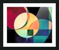 Composition Planétaire Picture Frame print