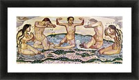 The day by Ferdinand Hodler Picture Frame print