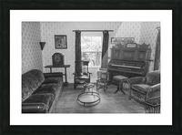 Thomas Organ and piano Company organ bw Picture Frame print