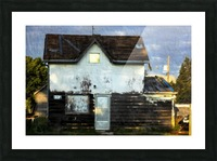Austin house Picture Frame print