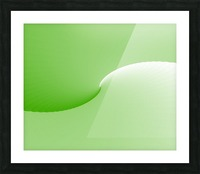 GREEN ABSTRACT  ORIGINAL Picture Frame print