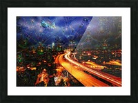 Midnight at the Ol Races Picture Frame print