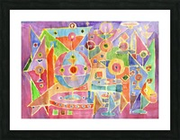 geometric abstracrion Picture Frame print