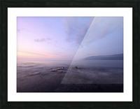 Soft lights Picture Frame print