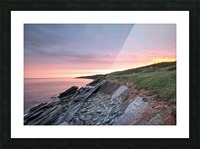 Fire Sky Picture Frame print